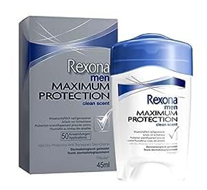 Rexona Men Déodorant Homme Stick Clean Scent Maximum Protection 45 ml