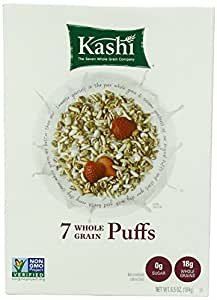 Kashi 7 Whole Grain Puffs Cereal, 6.5-Ounce Boxes (Pack of 6)