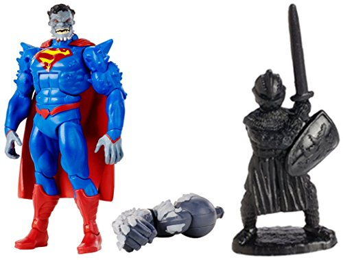"""Super Hero Multiverse Superman: Doomed 6"""" Figure & Free Guardian Knights Action Figure Set 36-Piece, Colors may vary Toys"""