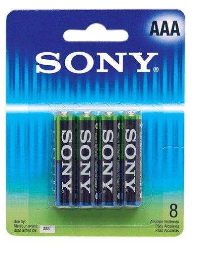 Sony AM4PTB8A Platinum Alkaline AAA 8 pack