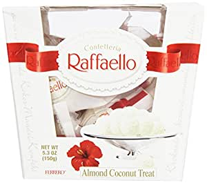 Amazon.com : Ferrero Raffaello, 15 Count (Pack of 6
