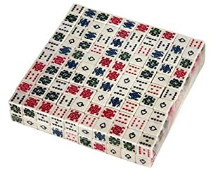 16mm 6 Sided Poker Playing Card Dice - Set of 200