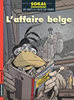 Une enquête de l'inspecteur Canardo, Tome 15 : L'affaire belge