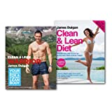 James Duigan James Duigan Clean & Lean Collection 2 Books Set,