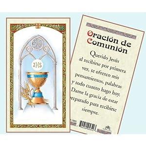 Amazon.com - Oración de Comunión - Tarjeta - Spanish Esl Educational