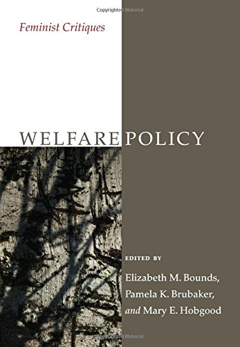 Welfare Policy: Feminist Critiques