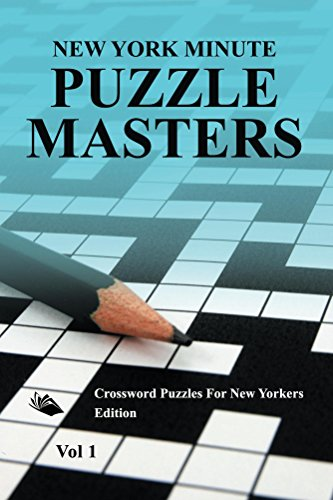 New York Minute Puzzle Masters Vol 1: Crossword Puzzles For New Yorkers Edition (Crossword Puzzles Series) (New Yorker Magazine App compare prices)