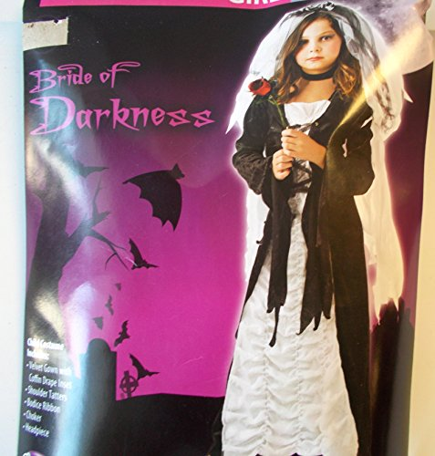 Bride of Darkness Coffin Bride Child Costume Dress 14-16 NIP