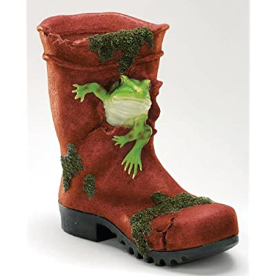 Frog Wellie Boot Planter