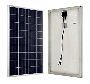 ECO-WORTHY 12 Volts 100W 160W Polycrystalline Silicon Solar Panel by ECO-WORTHY