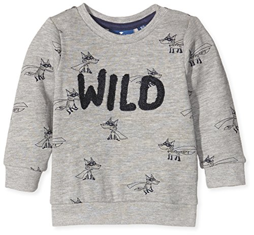 tom-tailor-kids-fuchs-sweatshirt-sweat-shirt-bebe-garcon-gris-medium-grey-melange-68