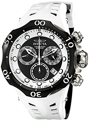 Invicta Men's 16989 Venom Analog Display Swiss Quartz Black Watch