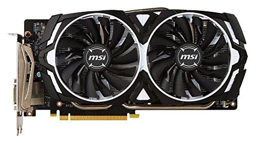MSI GeForce GTX 1060 ARMOR 6G OCV1 グラフィックスボード VD6150