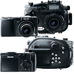 Sea & Sea DX-1G Compact Digital 10.0 MP Camera and Underwater Housing Set