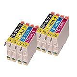 インク 【互換インク】 エプソン EPSON IC4CL32 4色セット×2 EP PM A700 A750 D600 カートリッジ プリンターインク 汎用インク インクカートリッジ 純正 汎用