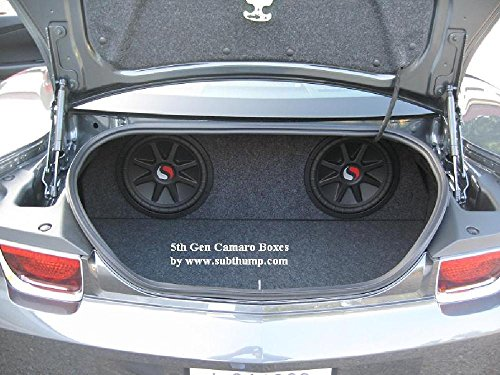 2010-2011 Camaro Dual 12 Rear Fire Sub Box (2010 Camaro Rear Speakers compare prices)