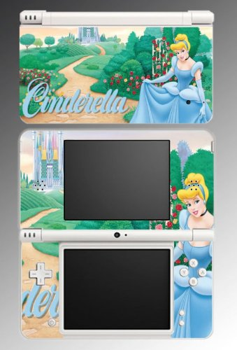 Cinderella Princess Dress Game Vinyl Decal Skin Protector Cover 11 for Nintendo DSi XL