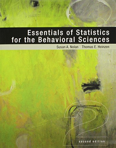 Essentials of Statistics for the Behavioral Sciences & PsychPortal Access Card (12 Month)