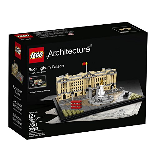 LEGO Architecture 21029 Buckingham Palace Building Kit (780 Piece)