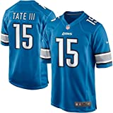 Golden Tate Detroit Lions NFL Blue Game Jersey