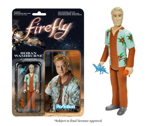 Hoban Washburne Firefly ReAction Action Figure by Firefly