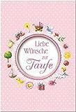 Image de Liebe Wünsche zur Taufe: Rosa