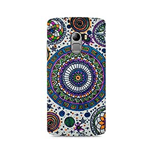 Mobicture Abstract Colorful Premium Printed Case For Lenovo K4 Note