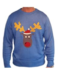 Ugly Christmas Sweater Reggie Reindeer
