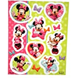 Minnie Mouse 'Bow-Tique' Stickers (4 sheets)