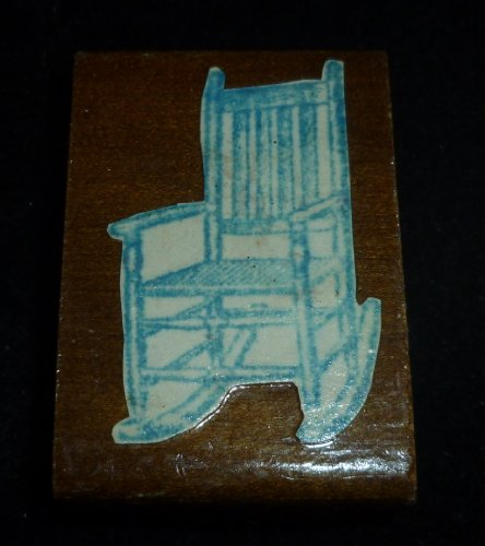Rocking Chair Rubber Stamp - 1