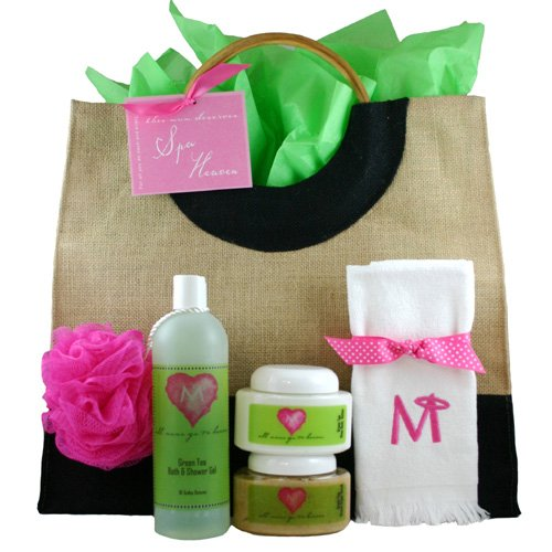 Gift Baskets for Mom - 'This Mom Deserves SPA Heaven' Gift Basket from All Moms Go To Heaven