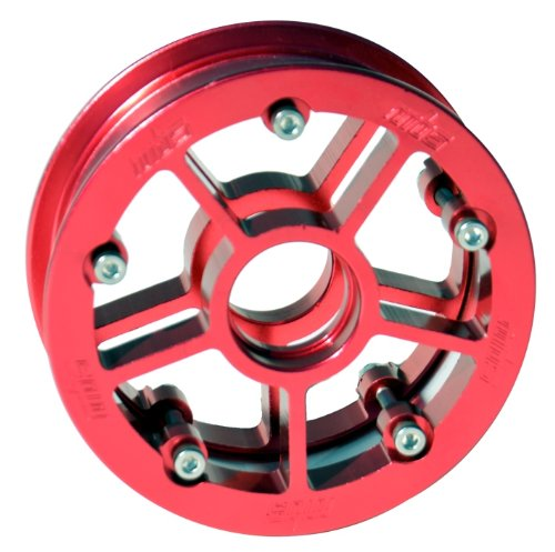 MBS Rock Star Pro Hub- Red Alum- Single