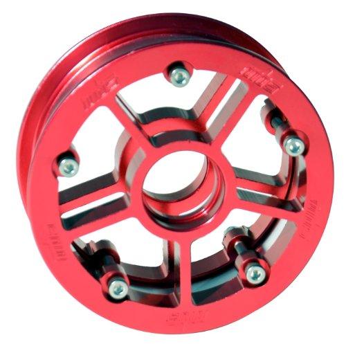 MBS Rock Star Pro Hub- Red Alum- Single