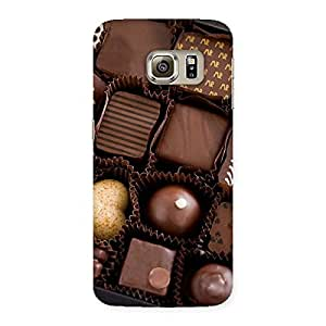Delighted Sweet Choco Pack Multicolor Back Case Cover for Samsung Galaxy S6 Edge Plus