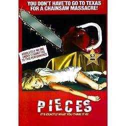 Pieces (Mil Gritos Tiene La Noche) [VHS Retro Style] 1982