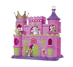 Simba 105958540 - Castello da sogno della fata Filly, con 3 cavalli e 1 unicorno