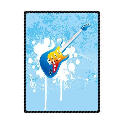 Guitar Fleece Blanket front-726026