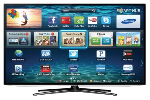 Samsung UN55ES6100 55-Inch 1080p 120Hz Slim LED HDTV (Black)