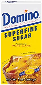 Domino Superfine Sugar, 16 oz