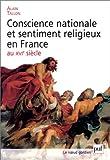 echange, troc Alain Tallon - Conscience nationale et sentiment religieux en France au XVIe siècle