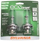 Sylvania 9003/HB2/H4 EB EcoBright Headlight Bulb (Low/High Beam), (Pack of 2)