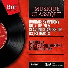 Dvo?�k: Symphony No. 7, Op. 70 & Slavonic Dances, Op. 83, Extracts (Mono Version)
