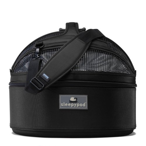 Sleepypod Medium Mobile Pet Bed, Jet Black