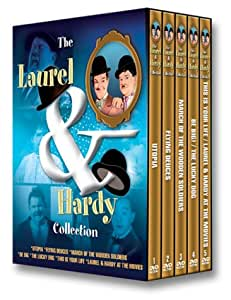 5pc Box:Laurel & Hardy Collect (Bilingual)