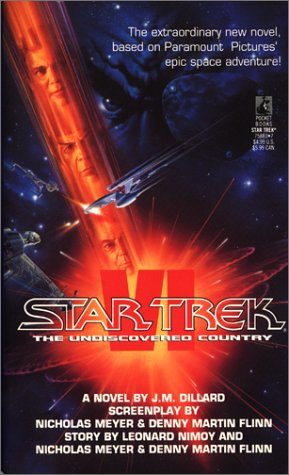 Star Trek VI The Undiscovered Country (Star Trek), J.M. DILLARD