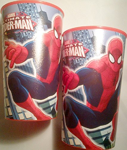 2-pack of Licensed Spider-man Character Party Cups (16 Oz.)