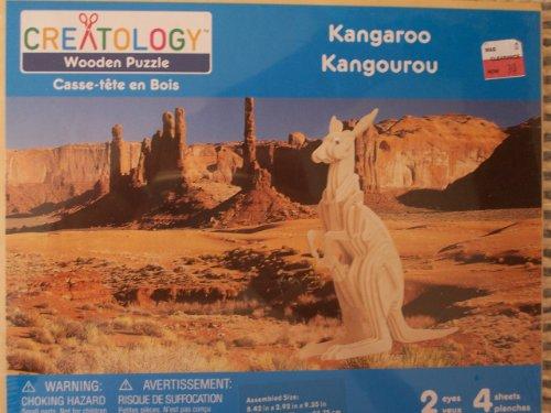 Creatology Wooden Puzzle ~ Kangaroo