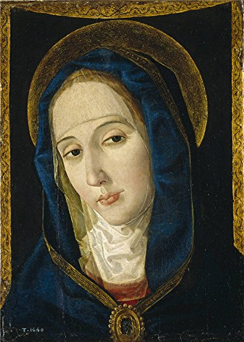 The Perfect Effect Canvas Of Oil Painting 'San Leocadio Paolo De Mater Dolorosa Late 15 Century ' ,size: 12 X 17 Inch / 30 X 43 Cm ,this Cheap But High Quality Art Decorative Art Decorative Canvas Prints Is Fit For Bar Decor And Home Decoration And Gifts