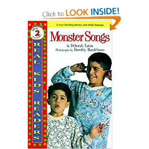 Monster Songs (Real Kids Readers)
