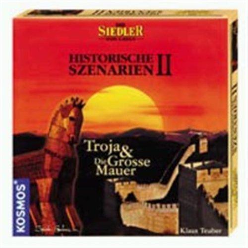 """Die Siedler von Catan – Historische Szenarien II """"Troja"""" & """"Die Große Mauer"""""""